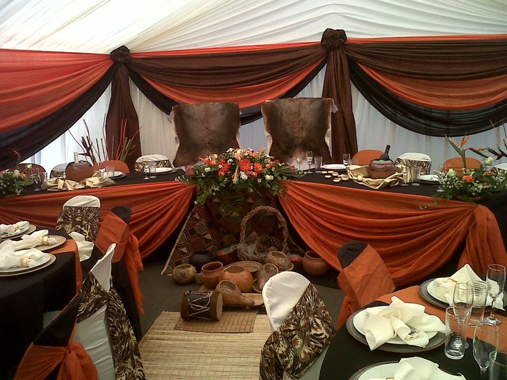 traditional african wedding decor!!! - Afrikan Makoti Media