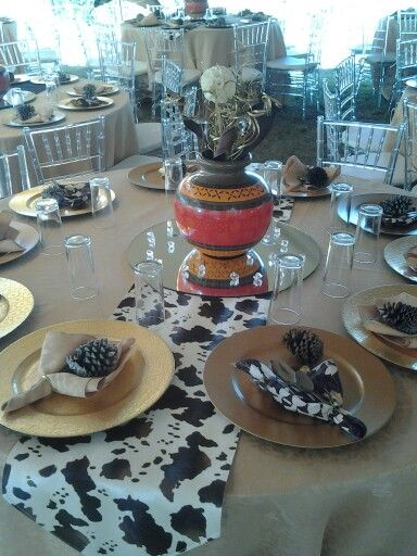 Traditional African Wedding Decor Afrikan Makoti Media